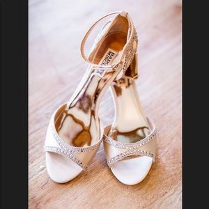 ✨ Badgley Mischka Wedding Shoes✨